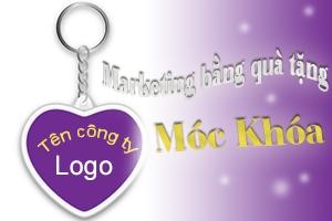 Marketing với quà tặng móc khóa