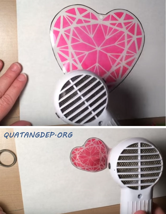 hướng dẫn làm móc khóa bằng vỏ nhựa bước 42